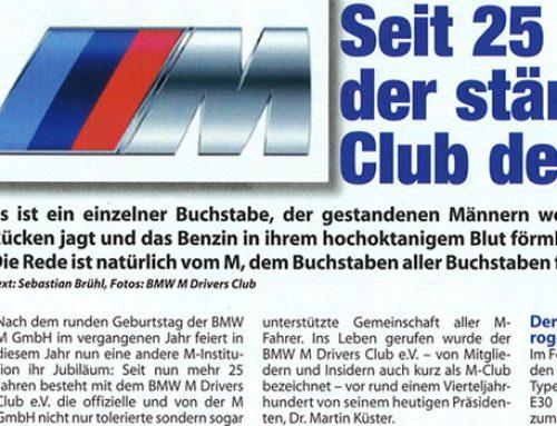 BMW M Club – Seit 25 Jahren der stärkste Club der Welt!